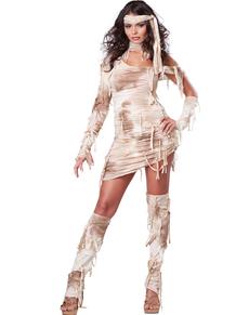 Disfraz de momia egipcia para mujer
