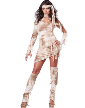 Egyptisk Mumie Kostyme Dame