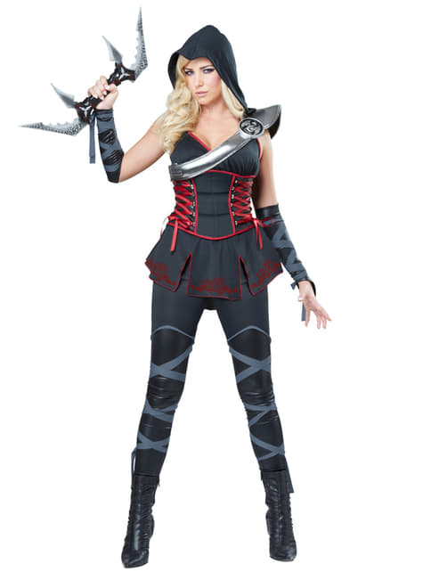 Womens Assassin's Creed Ninja Costume