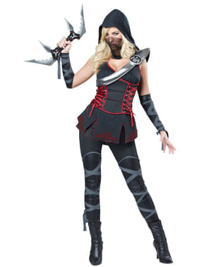 Жіночий костюм вбивці чорного ніндзя