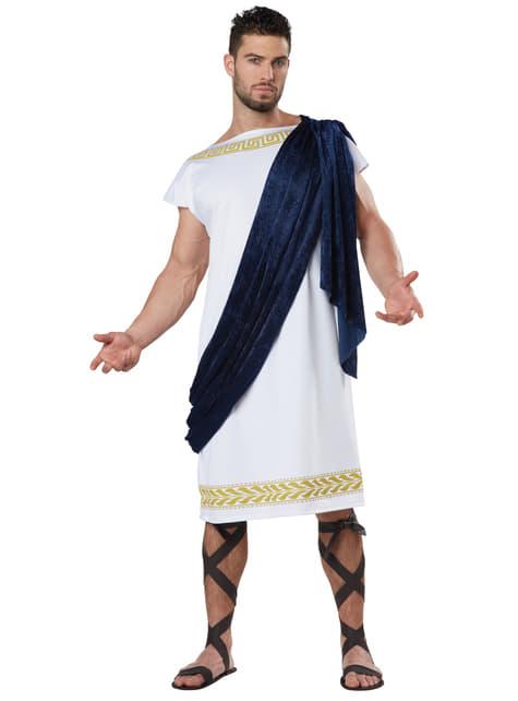 Disfraz de patricio romano para hombre