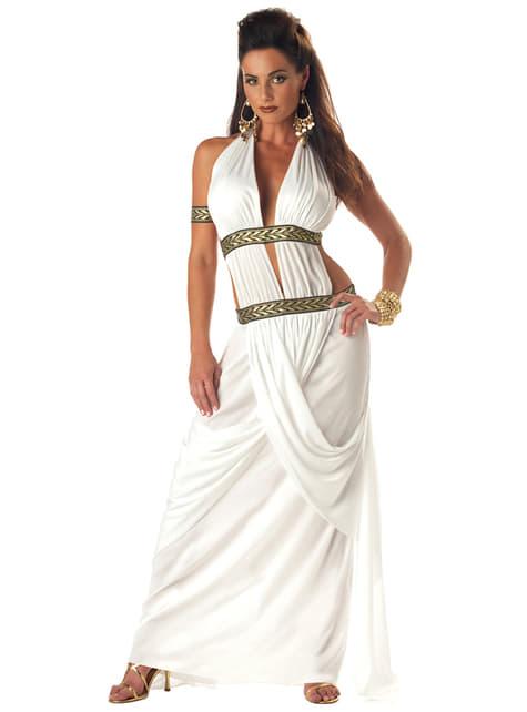 Maskeraddräkt Spartan drottning dam