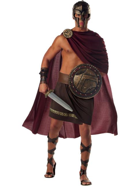 Disfraz de guerrero espartano para hombre