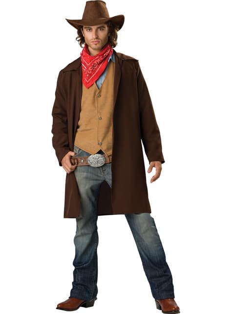 Disfraz de vaquero valiente para hombre