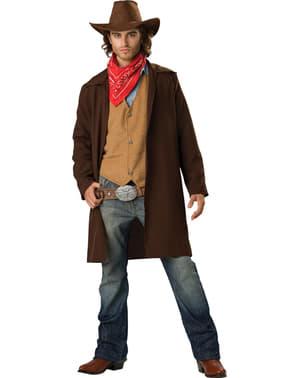 Costume da cowboy coraggioso per uomo