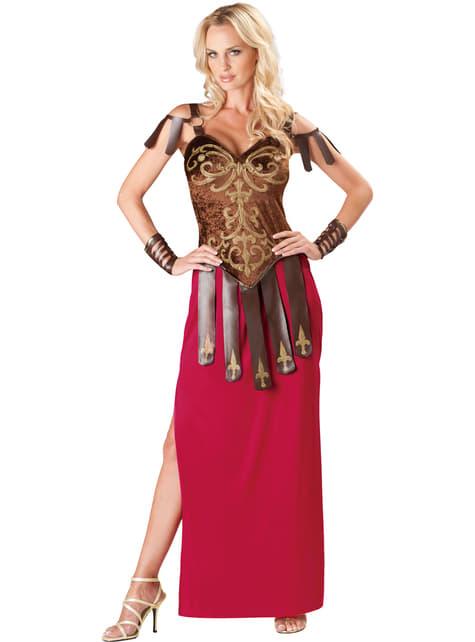 Krijger gladiator Kostuum voor vrouwen