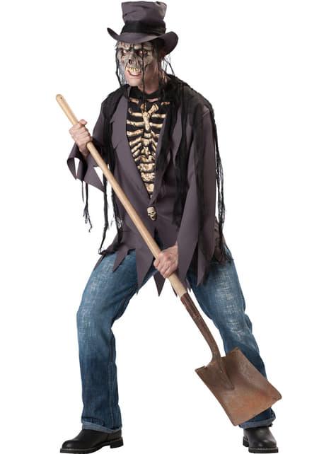 Men's Gravedigger Costume