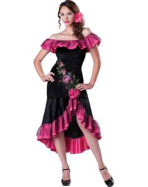 Andalusische Schönheit Kostüm für Damen