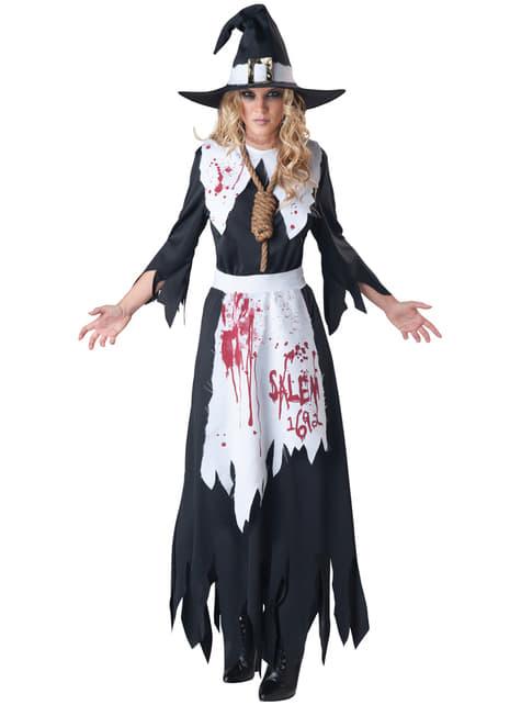 Strój czarownica z Salem
