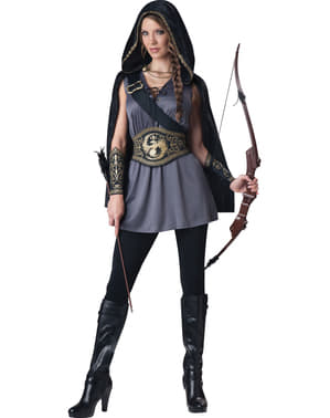 Women's Locked Up Huntress Costume