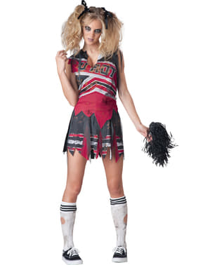 Costum de majoretă tenebroasă pentru femeie
