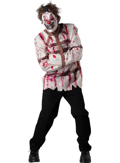 Men's Disturbed Clown Costume