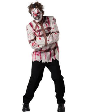 Geistesgestörter Clown Kostüm für Herren