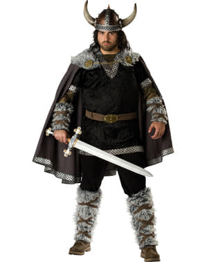 Kostum Viking Pria Ukuran Plus
