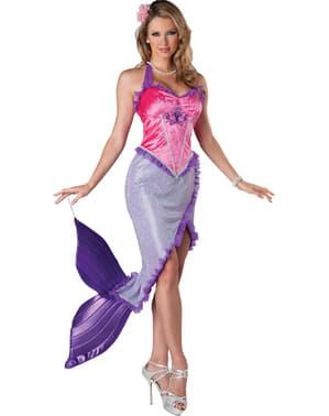 Kokettes Sirenen Kostüm für Damen