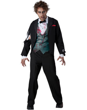 Men's Zombie Groom Costume