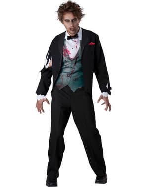 Pánske Zombie Groom Costume