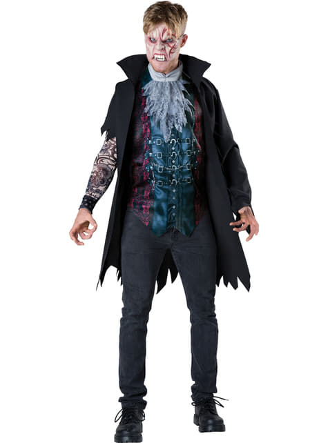 Disfraz de vampiro a la moda para hombre