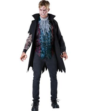 Fato de vampiro na moda para homem