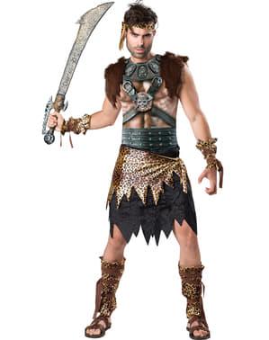 Fato de guerreiro viking para homem