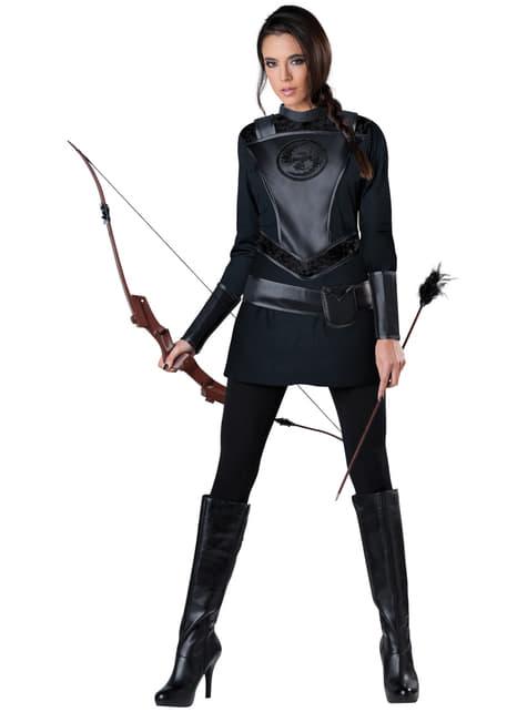 Strijdlustige boogschutter Kostuum voor vrouw