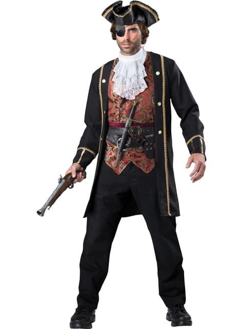 Disfraz de corsario deluxe para hombre