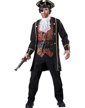 Piraat deluxe Kostuum voor mannen