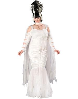 Disfraz de novia de Frankie para mujer grande