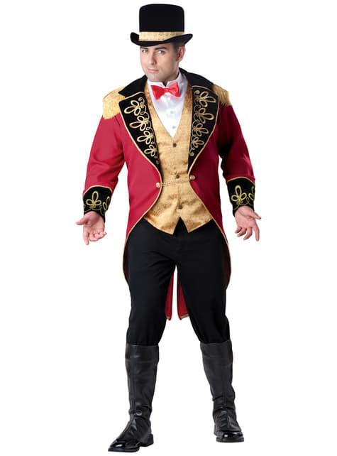 Kostium elegancki treser męski duży rozmiar