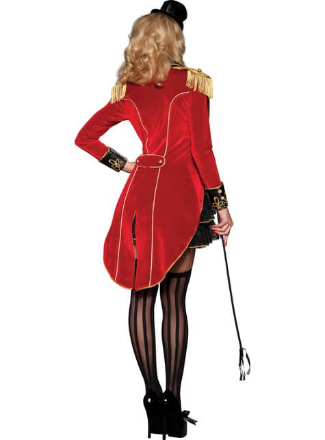 Disfraz de domadora deluxe para mujer