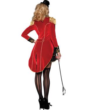Луксозен дамски костюм на дресьор на лъвове