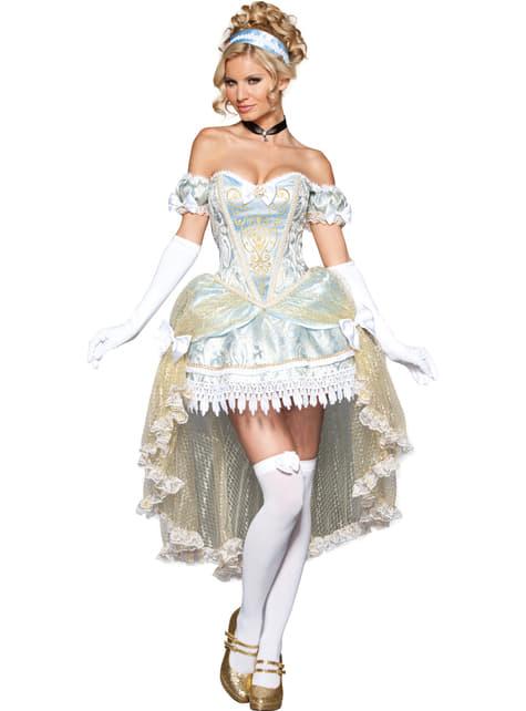 Disfraz de princesa de medianoche deluxe para mujer - mujer
