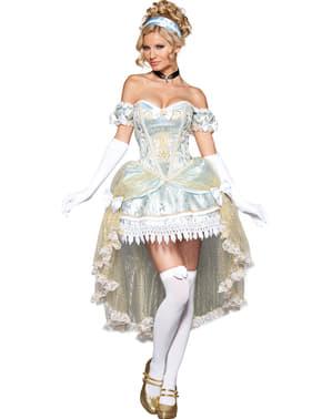Disfraz de princesa de medianoche deluxe para mujer