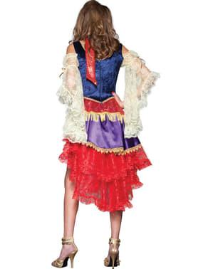 Disfraz de zíngara deluxe para mujer