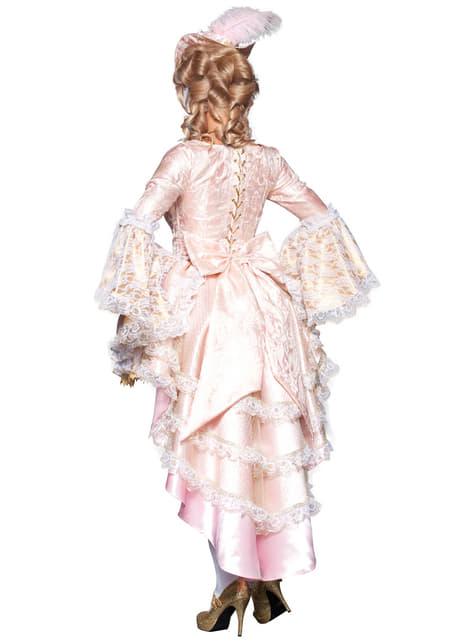 Disfraz de cortesana Versalles deluxe para mujer - mujer