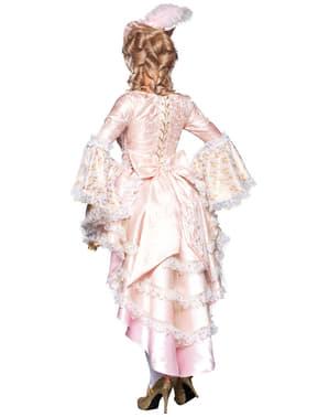 Versailles kurtisanekostume deluxe til kvinder