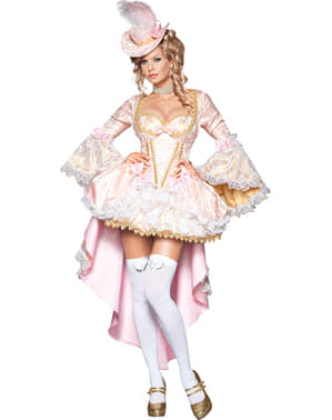 Disfraz de cortesana Versalles deluxe para mujer