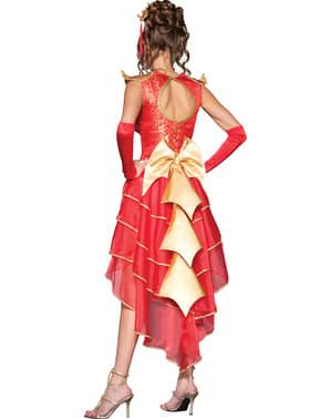 Costum Miss Dragon deluxe pentru femeie