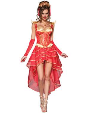 Жіночий люкс Міс Дракон костюм