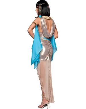 Fato de deusa do Nilo deluxe para mulher
