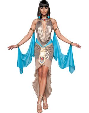 Disfraz de diosa del Nilo deluxe para mujer