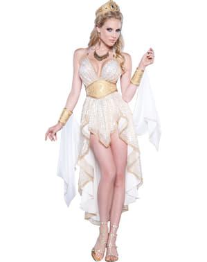 Maskeraddräkt Grekisk Gudinna deluxe för henne