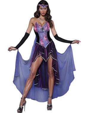 Disfraz de hechicera deluxe para mujer