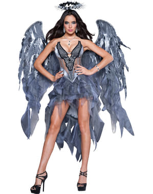 Strój upadły anioł deluxe damski