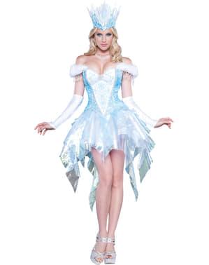 Strój inspirująca królowa lodu damski