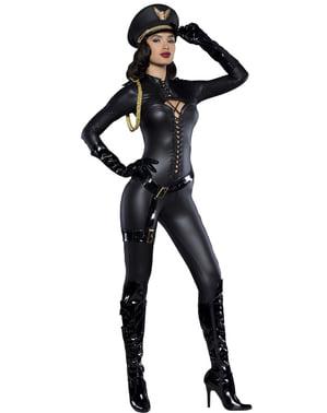 Disfraz de sargento del deseo para mujer