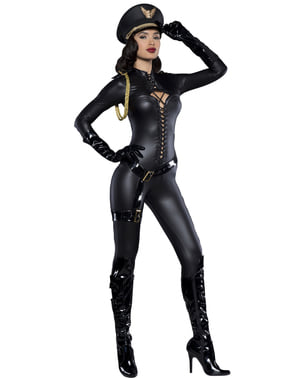 Women's Sergeant of Desire Costume