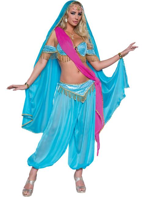Fato de dançarina exótica para mulher