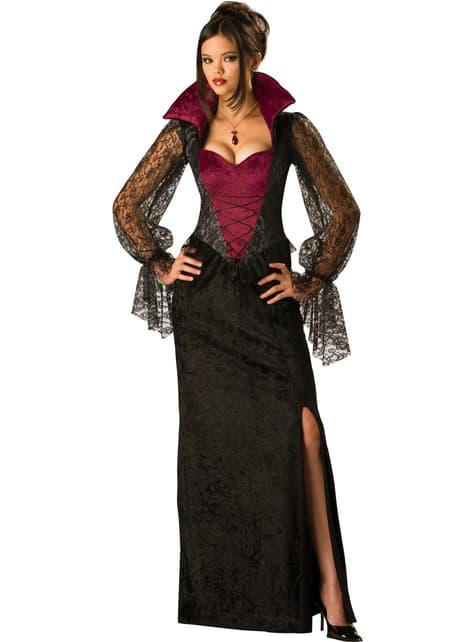 Strój wampirka o północy damski