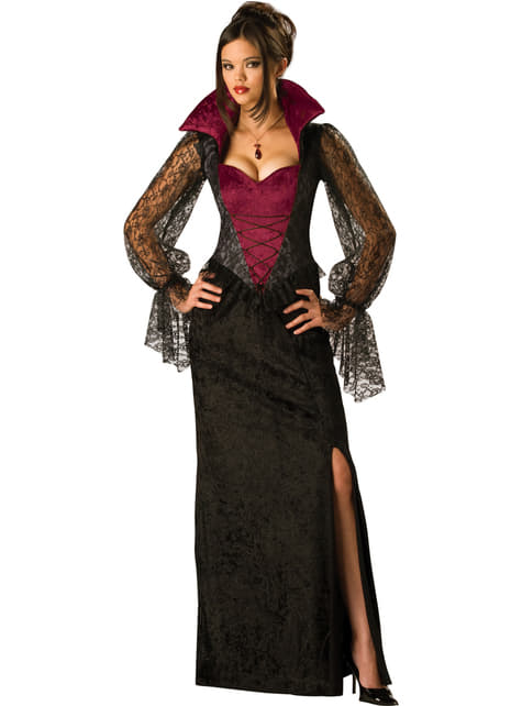 Mitternachts Vamp Kostüm für Damen